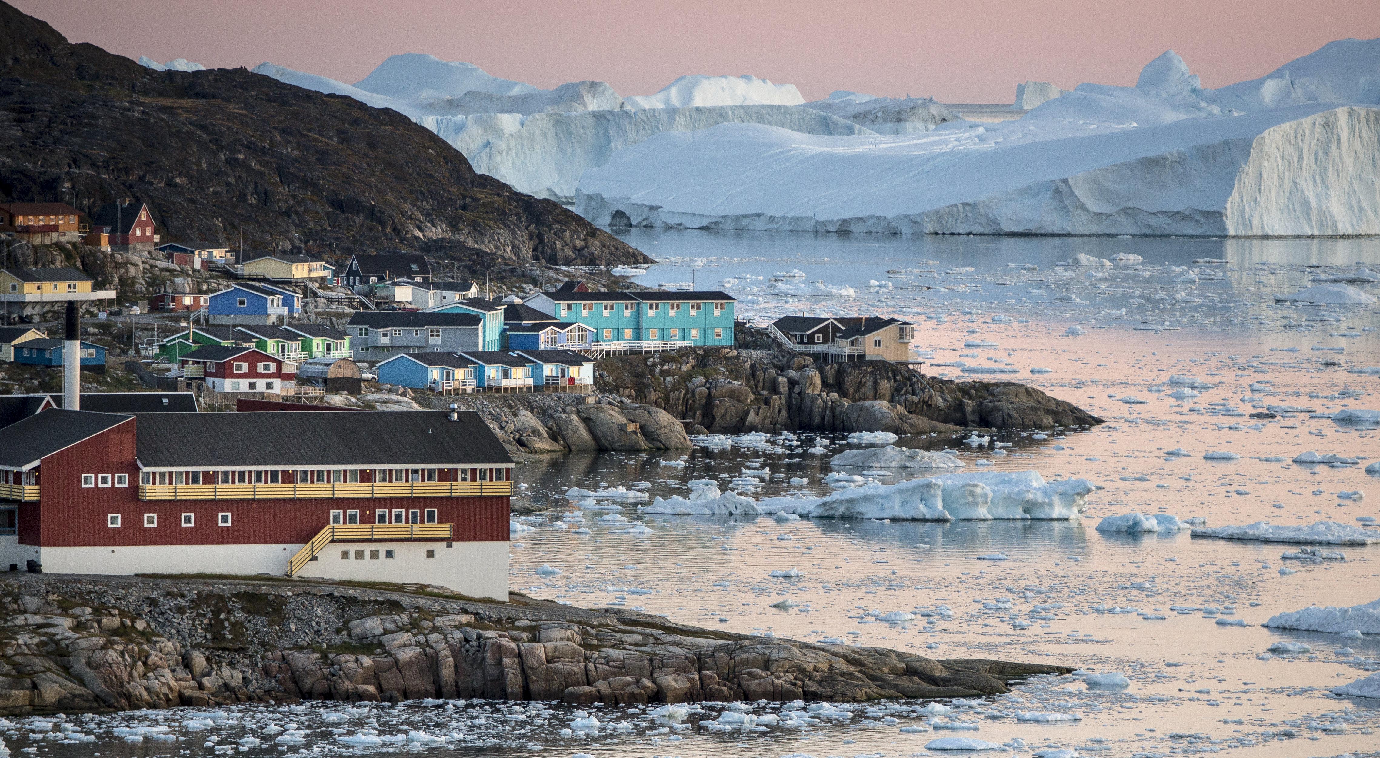 Der Eisfjord vor Ilulissat