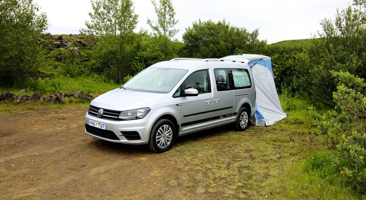 Europcar Minicamper XM in Island